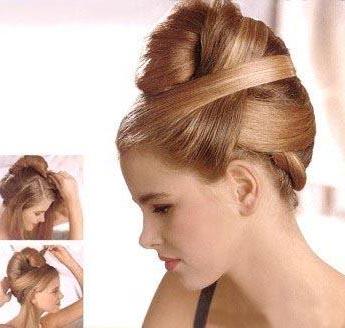 Peinados recogidos faciles - Peinados de moda faciles de hacer en casa ...